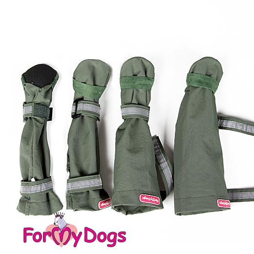 Обувь для собак в интернет магазине. Купить обувь для маленьких собак - Сапожки FMD хакки